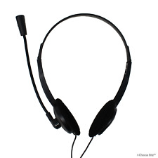 Stereo Skype Chat Headset + Microphone for PC + Laptop / Trust 21665 Primo