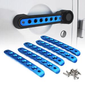 Xprite Aluminum Door Grab Handle Inserts Cover Trim for 07-18 Jeep Wrangler JK