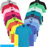 Kustom Kit MEN'S PIQUE POLO SHIRT CLASSIC FIT GOLF TENNIS WORKWEAR COLOURS S-5XL