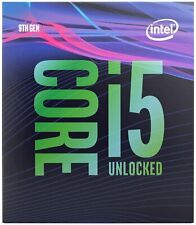 Intel Core i5-9600K Coffee Lake 6-Cores 3.7 GHz Unlocked BX80684I59600K