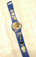 VINTAGE BEAUTY AND THE BEAST WATCH WRISTWATCH DISNEY MOVIE LUMIERE MS POTS ROSE