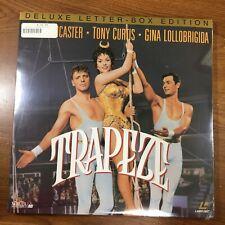 TRAPEZE on Laserdisc Brand New SEALED Thriller Drama Classics WIDESCREEN