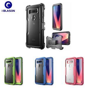 For LG V30 / V30 Plus / V30S, i-Blason Full-Body Protection Bumper Case Cover UK