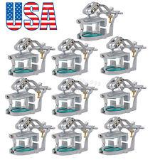 10 Adjustable Magnetic Articulator Dental Lab Equipment Dentist Full Teeth Model