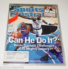 Kevin Garnett, Karl Malone Sports Illustrated SI - Lakers, Timberwolves 2004