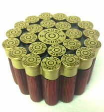 12 GAUGE SHOTGUN SHELL TRINKET BOX - HUNTING STORAGE BOX - LODGE DECOR, SHOT GUN