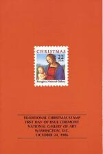 #2244 FD Program 22c Christmas Madonna Stamp