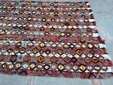 Oushak Filikli Rug, Tulu Area Rug, Flokati Area Rug, Oriental Rug, 5'4x8'1