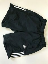 P880 para Hombre Adidas Negro Con Cordón Deportes Pantalones Cortos Reino Unido s W28-30
