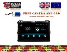 NAVI CARPLAY ANDROID AUTO 9.0 BT DAB+ 8CORE TOYOTA PRADO 2006-10 DHS2129