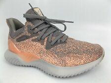 Adidas Alfa-Bounce Casual Zapatos Atléticos Correr Mujeres Talla 7.5 M Rosa/Gris 16276