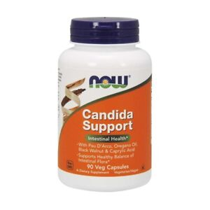 NOW Foods Candida Support for Intestinal Health - 90 Vegetable Capsules