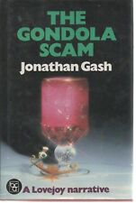 JONATHAN GASH THE GONDOLA SCAM LOVEJOY BOOK CLUB FIRST EDITION HB DJ 1984