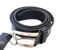 ds Cinta Cintura Uomo Pelle Nera CTV80028 Elegante Glamour Fashion Alla Moda hac