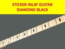 STICKERS INLAY DIAMONDS BLACK FRETS GUITAR VISIT OUR STORE WITH MANY MORE MODELS