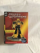 Palisades Transformers Bumblebee Polystone Mini Statue Non Stop Toy Exclusive