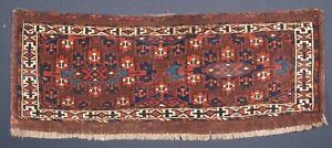 Antique Yomut Turkmen Kepse Gul Torba, Circa 1880.
