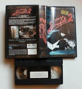 VHS - SENZA SCRUPOLI 2 - VERSIONE INTEGRALE 1990 - EAGLE - USATA 1^ ED. NOLEGGIO