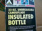 American Camper 32 OZ Unbreakable Camouflage Insulated Bottle