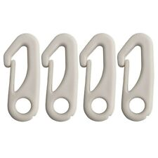 New listing 4 Pcs Flag Pole Clip Snap Hooks Nylon Flagpole Attachment Hardware - to Attac.