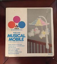 ^ Vintage Dolly Woolly Lambs Crib Musical Mobile missing the crib attachment