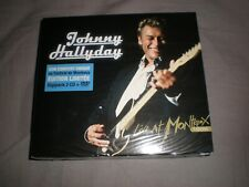 johnny hallyday live at montreux 1988 édition limitée digipack 2 cd + dvd