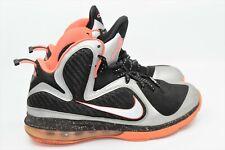 92ee00dd7e2e Nike Lebron 9 Bright Mango Metallic Silver Size 9 469764-005