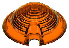 Amber Replacement Lens for Harley Marker Lights - Bullet Light Lens Replacement