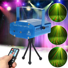 Mini Laser Projector Stage Lights LED RG Lighting Party KTV DJ Disco Club Dance