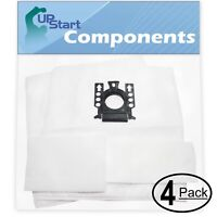 8 Vacuum Bags with 8 Micro Filters for Miele S5380 Gemini