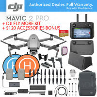 DJI MAVIC 2 PRO w/ SMART REMOTE CONTROLLER + FLY MORE KIT + ACCESSORIES COMBO