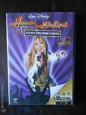 DVD HANNAH MONTANA Y MILEY CYRUS - LA PELICULA - WALT DISNEY (4F)