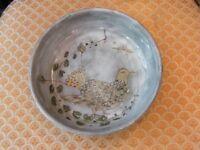 Assiette Creuse Décor d'oiseau par Paul Artus Montpellier