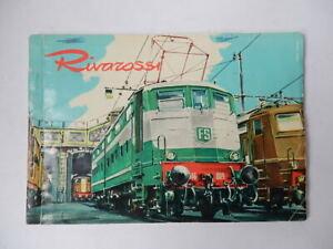 RIVAROSSI TRENO CATALOGO trenino locomotiva 1960 Tromby Udine