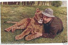 Cy De Vry & Senator Lincoln Park Zoo Chicago Photochrome Postcard 1911 Posted