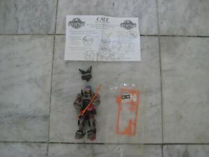 Ronin Warriors CALE Action Figure 1995 complete FREE Ship RARE !!!