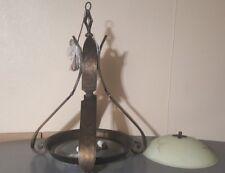 CORBETT ANTIQUE ART DECO CHANDELIER LAMP FIXTURE c.MODEL 37011