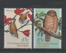 C198 Christmas islands 421/22 postfris Vogels