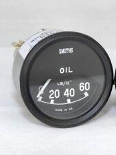 "New Smith Oil Pressure Gauges Jaguar XKE E-Type Series 1  ""60 Lb"" W Transmitter"