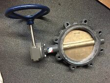 """NIBCO 8"""" BUTTERFLY VALVE GEAR REDUCTION LD2000"""