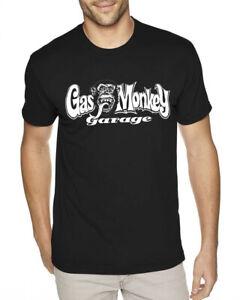 Licenza Ufficiale Gas Monkey Sidekick Maglietta Donna Mezze Maniche