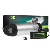 E-Bike Akku 36V 12Ah Li-Ion Bottle Pedelec Green Cell Batterie + Ladegerät