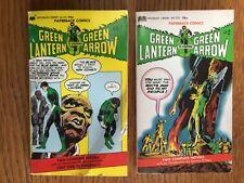 GREEN LANTERN & GREEN ARROW PAPERBACK #1 AND #2 NEAL ADAMS & DENNY O'NEIL