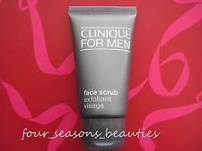 NEW Clinique Skin Supplies for Men Face Scrub Exfoliator 1.7 oz /50 ml Travel