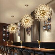 Modern Dandelion Sputnik Chandelier Fireworks Ceiling Pendant LED Lamp Fixtures