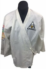 Vintage Lion Bushido Karate Academy GI Jacket Heavy L Training Pre 1994