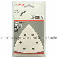 10 Bosch Delta Sanding Sheets Mixed Grit PAINT PDA PMF GOP Multi Tool 2608607542