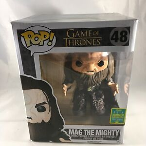 Funko Pop! Mag the Mighty Game of Thrones  #48 2016 Summer Convention Exclusive