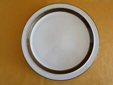 """MIKASA METRO L4825 LARGE ROUND CHOP PLATE 12"""" JAPAN WHITE/ BROWN MULTIPLES AVAIL"""