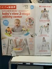 Skip Hop Explore and More Baby's View 3-Stage Interactive Activity Center, Multi